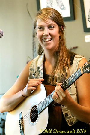 June 29, 2018 - Clayton & Joelle at the Carrot Community Arts Coffeehouse