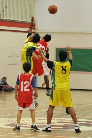 U14 Boys Red Basketball vs Sandford 2013.10.07