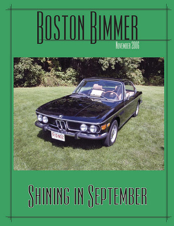 Boston Chapter newsletter, November 2006
