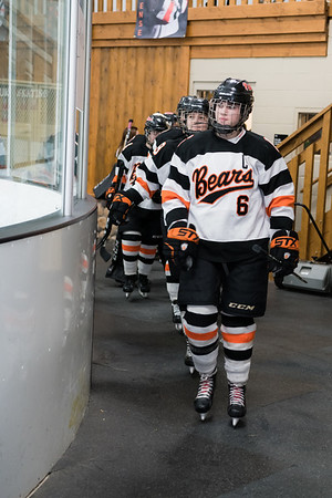 WBL Girls Varsity Hockey -V- Woodbury  2020