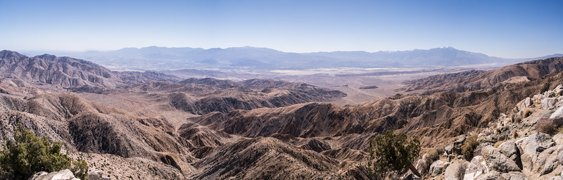 San Andreas Fault from Joshua Tree