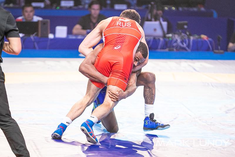 Semifinal: Zaurbek Sidakov (Russia) over Jordan Ernest Burroughs (United States)  •  Dec 4-3 - 2019 World Championships