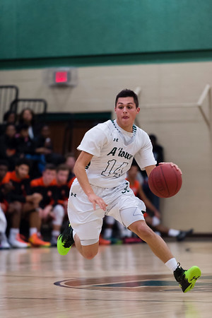 1/15/16 - Atholton Boys Varsity Basketball vs Oakland Mills