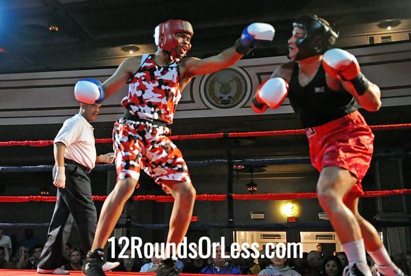 Bout # 8 Jimmy Bland(Glennville Rec-Cleve, OH)-vs-Vinney Macellaro(Pittsburgh BC-Pitt, PA) 165 Pounds