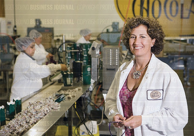 Behind the scenes at Seattle Chocolates' manufacturing facilities in Tukwila, Wash.