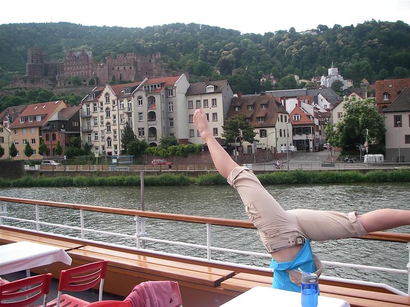 Tristen Morris - Nekar River, Heidelberg, Germany