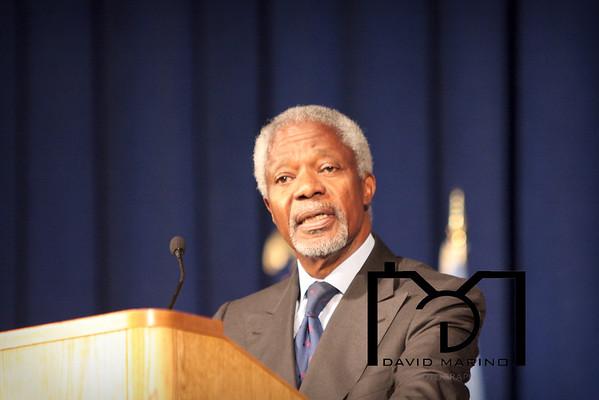 Kofi Annan UB Distinguished Speaker Series
