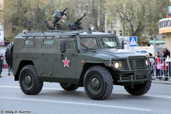 April 26th and 30th rehearsals of 2012 Victory Day Parade