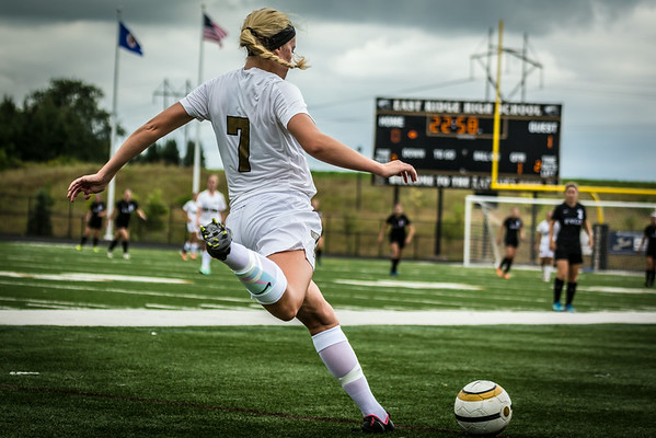 2014 Girls'  ERHS Varsity vs. Eastview 8/30/14