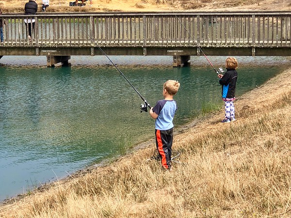 1st Time Fishing for Trout in Bodega Bay