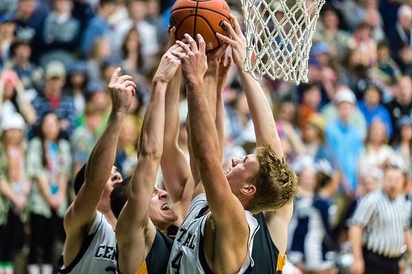 CC Varsity Boys Basketball vs McCutcheon 2017-1-6