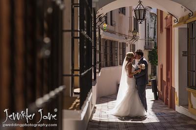 Kate and Phil, La Encarnación Church and Estrella del Mar - Marbella