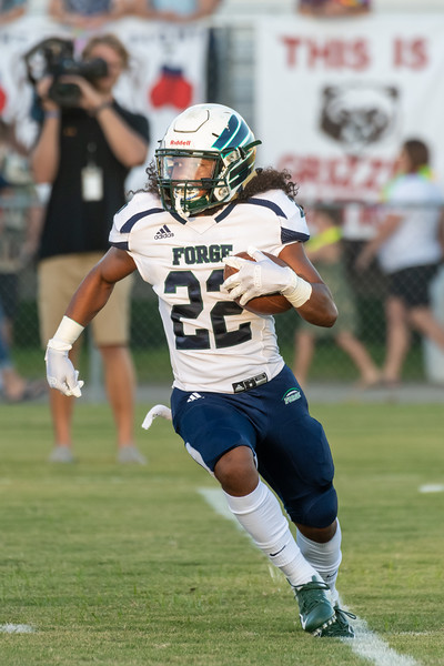 2019-08-29 Colonial Forge vs Grassfield Football