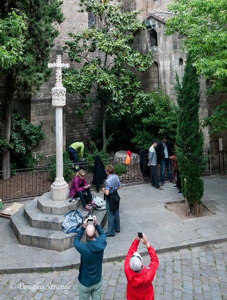 Barcelona: Church of Santa Anna