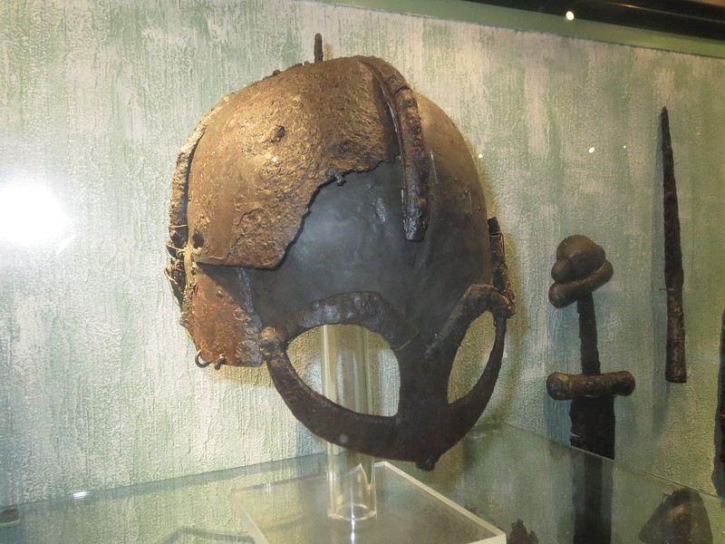 Viking helmet.. with flash