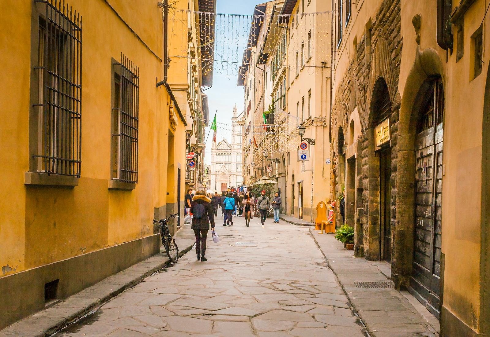 意大利佛罗伦萨(Florence),小街文化