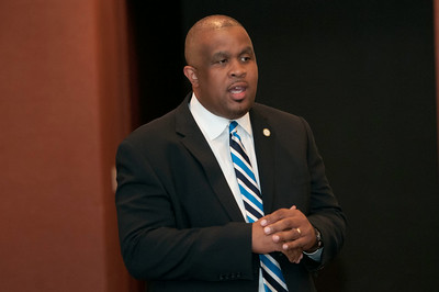Father's Auxiliary Seminar - Commerce & Economic Development In The Queen City 7-30-14 by Jon Strayhorn
