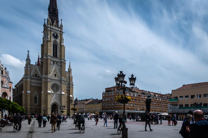 Novi Sad has a lovely town square