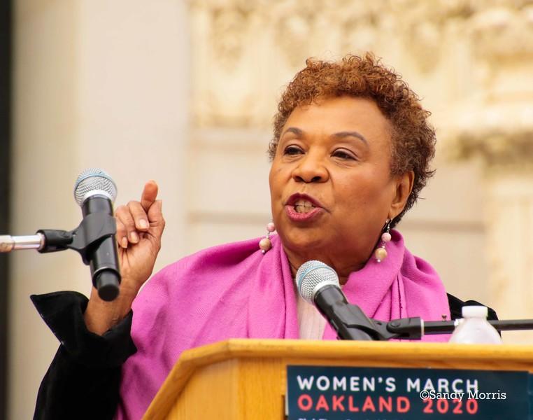 _W5A0442c Congresswoman Barbara Lee ©Sandy Morris.jpg