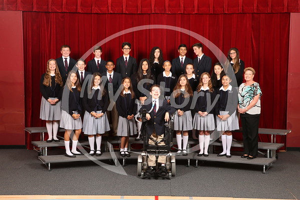 2016-17 Class Photos (Antonian Middle School)