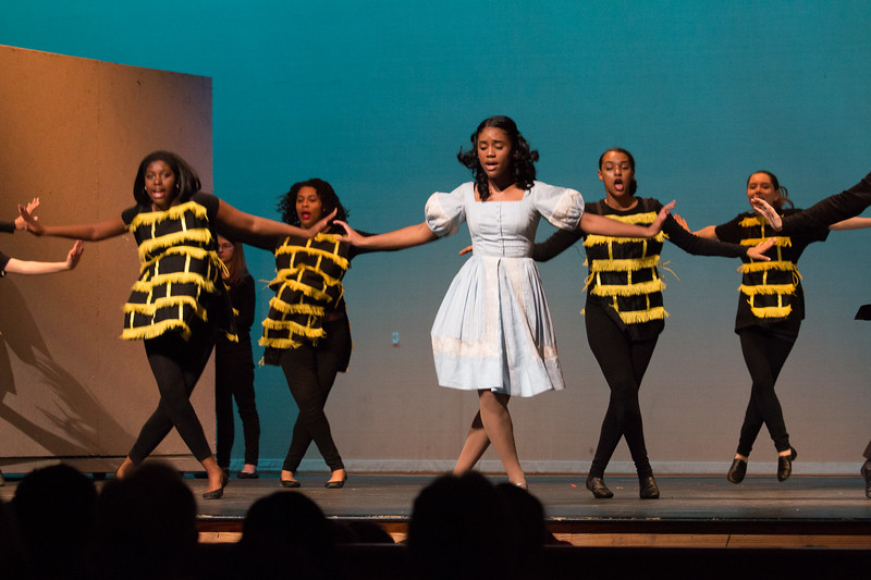 """Ease on Down the Road"" -- ""The Wiz"", Montgomery Blair High School spring musical, March 26, 2017"