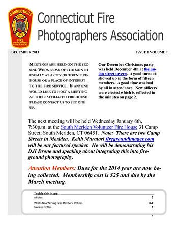 CFPA Newsletter Decembr 2013