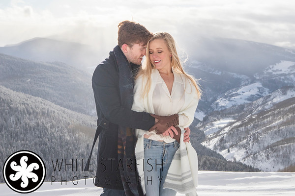 Vail Engagement Photos - Vail Mountain - Grace and Cam