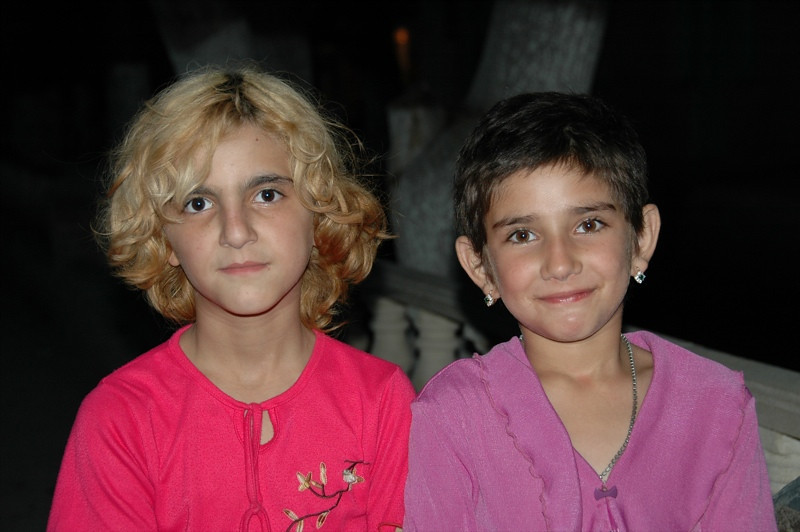 Two Young Girls - Shaki, Azerbaijan