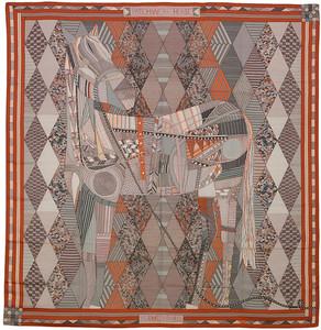 Patchwork Horse - CS140 - Argile Orange Gris - NWOCT 1611192125