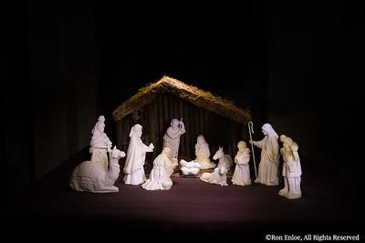 2014-12 Lightpainting - Christmas Nativity