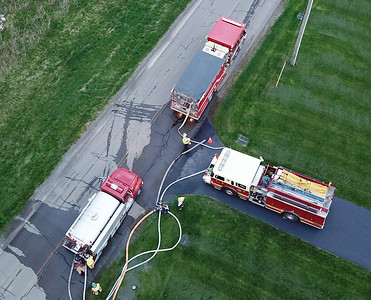Drone Photos from EAFD Rural Water Drill