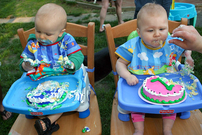 First Birthday Party. Maddie and Kevin 5.29.06