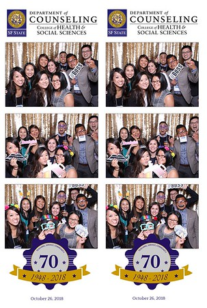 SFSU Department of Counseling Celebrates 70 years