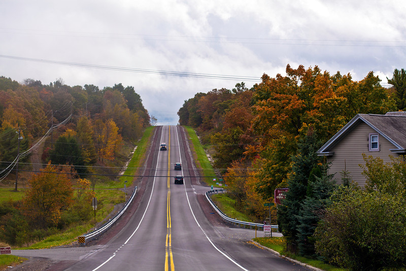 The route to Jim Thorpe.
