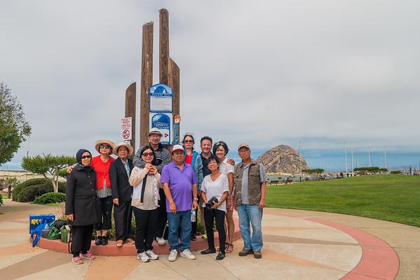 Hong Gia Trip to Morro Bay and Solvang