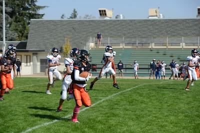 Pop Warner Creekside Warriors 12U vs S.Marin Broncos