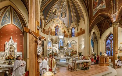 125th Anniversary Mass - Sacred Heart Church, New Britain