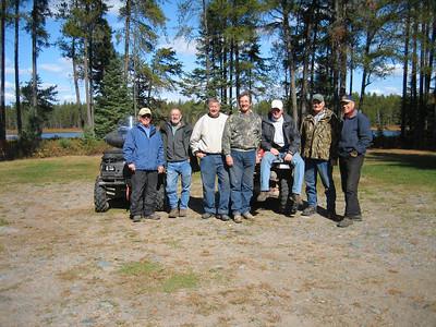 GUYS 4-WHEELER TRIP TO UPPER MICHIGAN 10-04-06