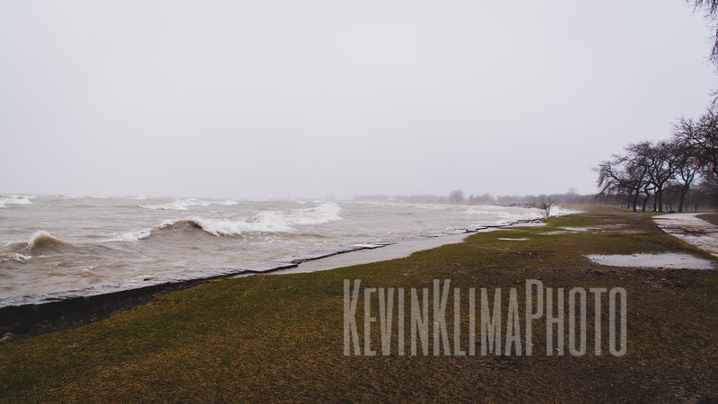 Chicago Lakefront on January 11, 2020