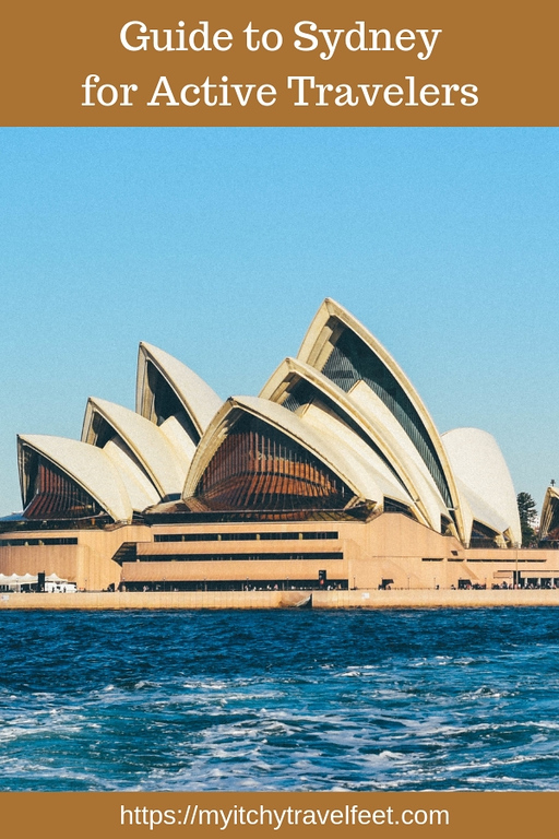 Seeing the Sydney Opera House from the water is just one of the many active travel ideas in our Guide to Sydney.