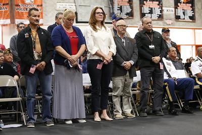 Veterans Day Ceremony at El Paso High