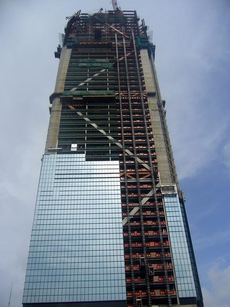 Shangahi World Trade Center, Aug 2006