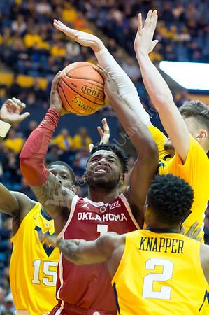 35284 WVU Men's Basketball VS Oklahoma University