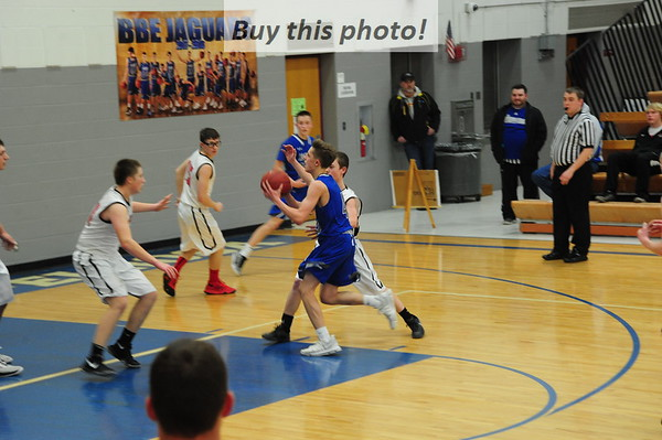 BBE boysBB vs. Pierz 02-15