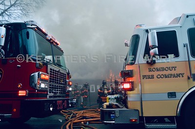 Multiple Alarm Fire - 110-114 Market St, Wappingers NY - 2/25/2020