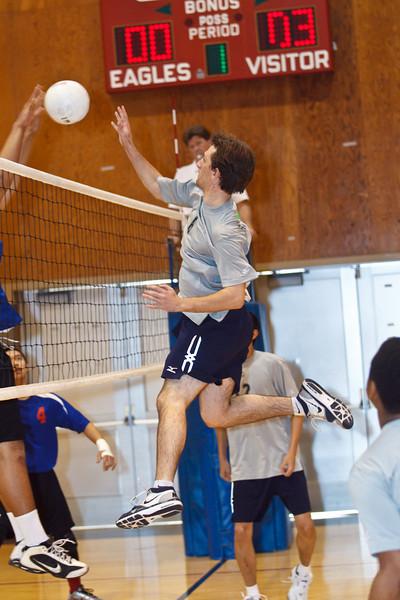 RCS Varsity Boys' Volleyball vs San Leandro - March 27, 2011