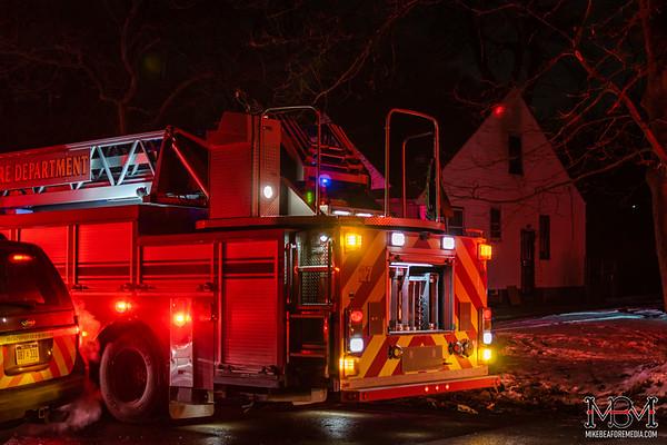 Detroit MI, House Fire 2-8-2020