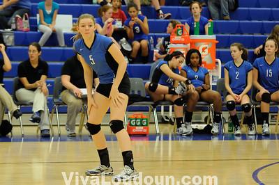 Varsity Volleyball: Tuscarora vs Broad Run 10-7-10 (By Chris Anderson)