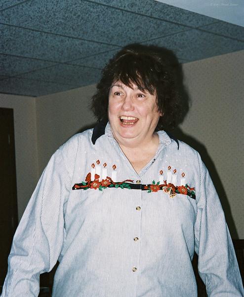 Shirley Lebin, visiting us, Dec 31 1998