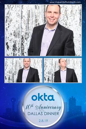 Okta 10th Anniversary Dallas Dinner 2-8-19